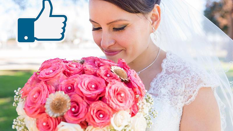 La pagina facebook per il vostro abito da sposa