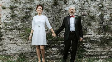 Vanda e Stefano: il matrimonio non ha età